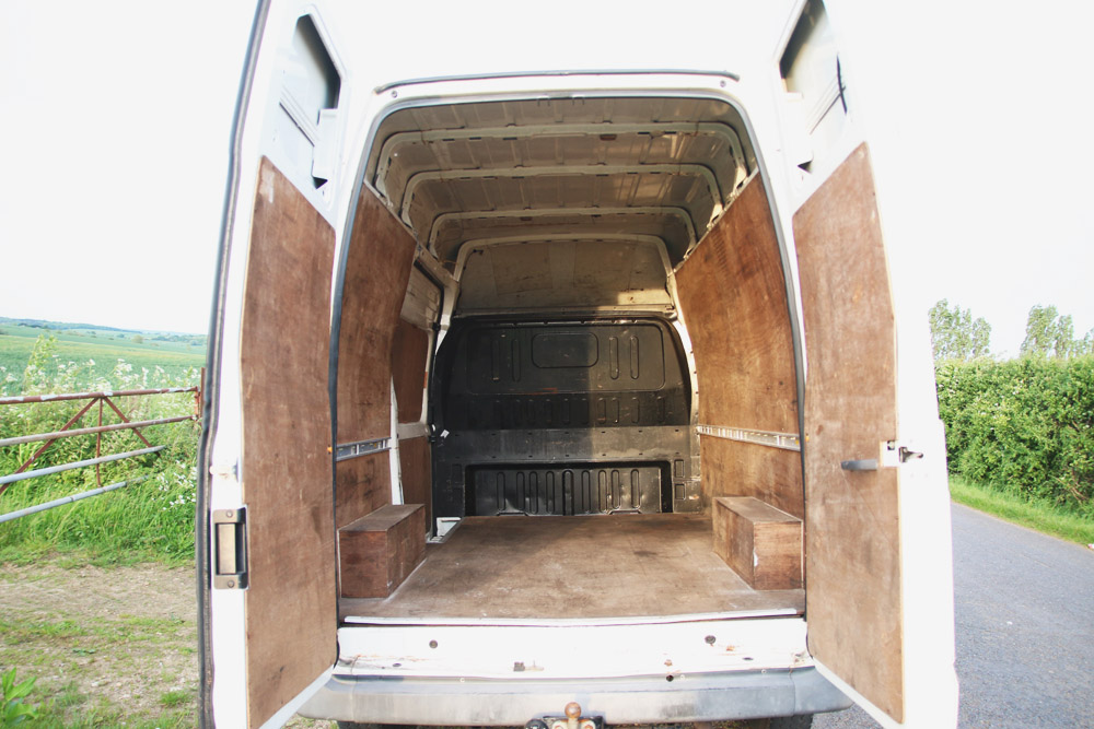 Ford Transit Campervan Conversion - Before