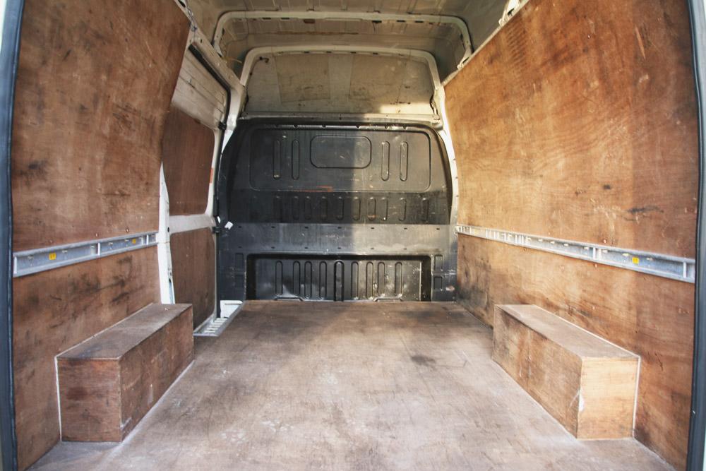 Ford Transit Campervan Conversion - Before