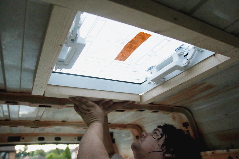 Installing a Fiamma Roof Vent