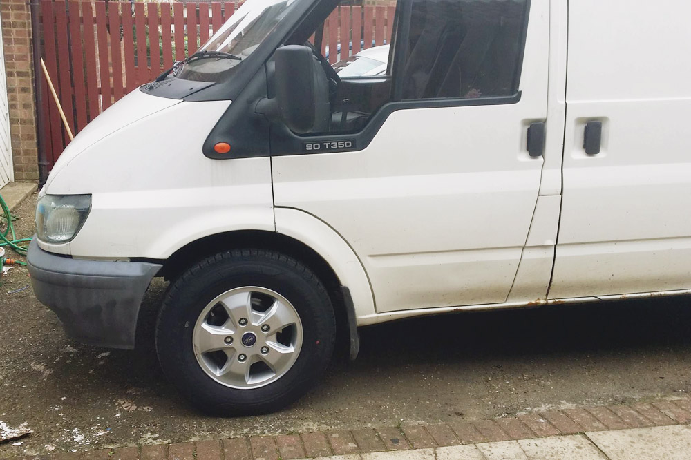 Van Conversion - New Alloys