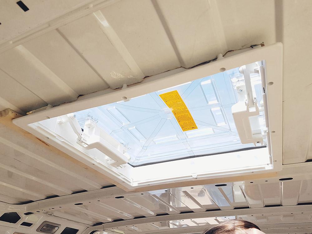 Van Conversion Installing A Fiamma Roof Vent