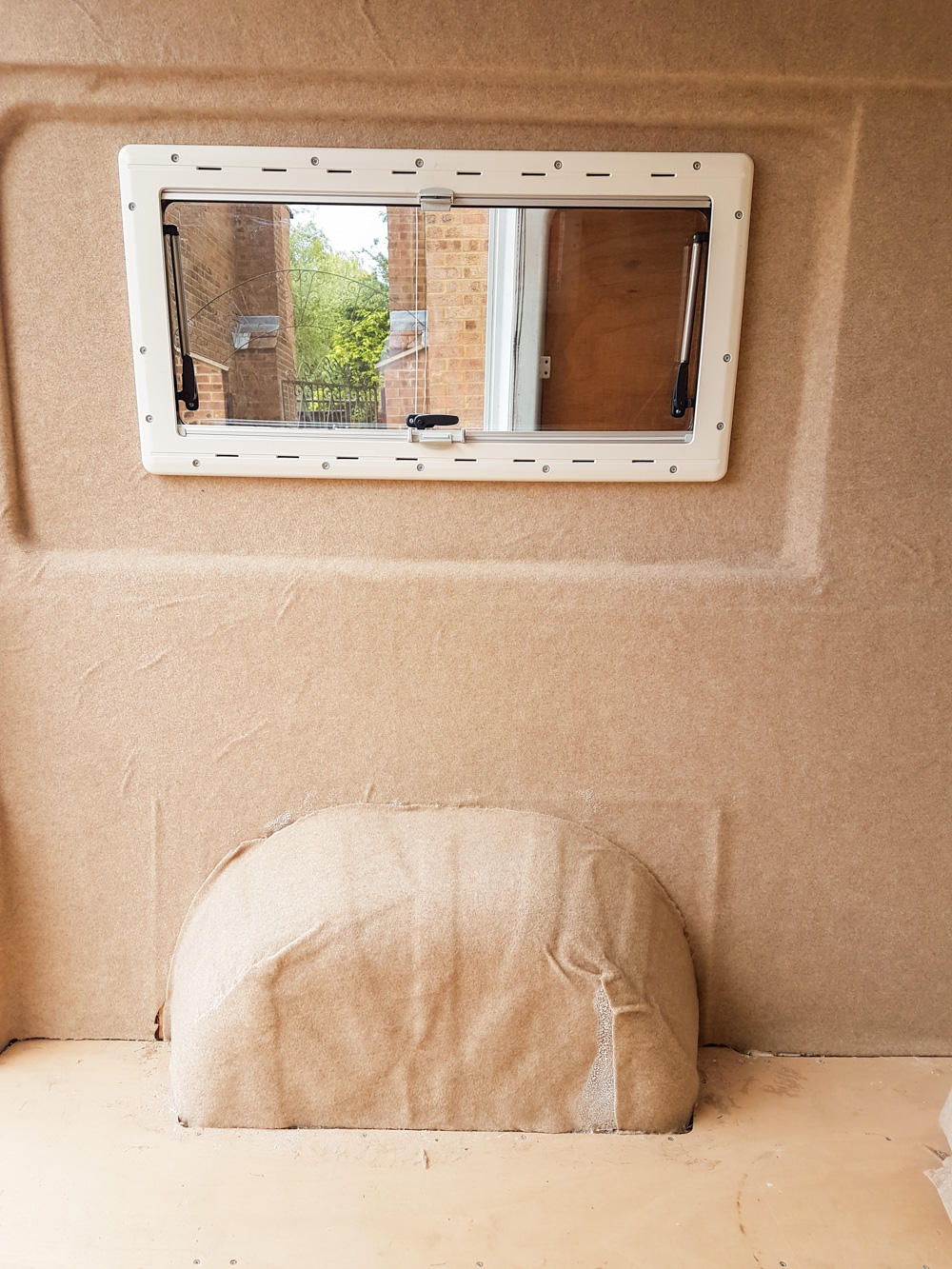 Campervan Van Lining with Carpet