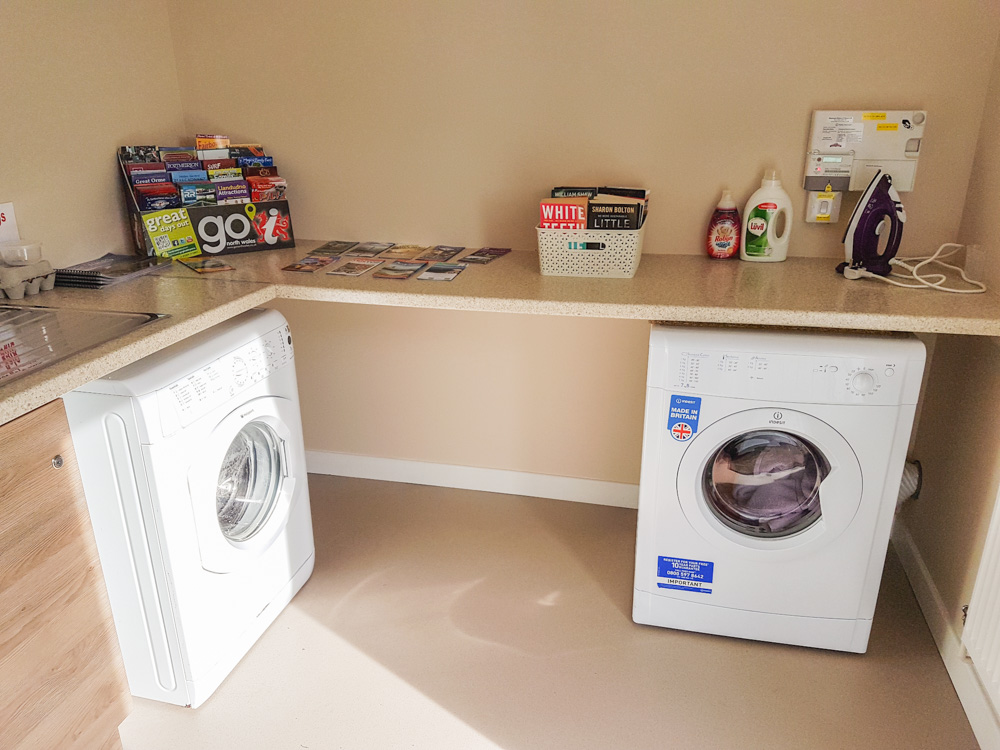 Bryn Ednyfed Campsite - Washing Machine and Tumble Dryer