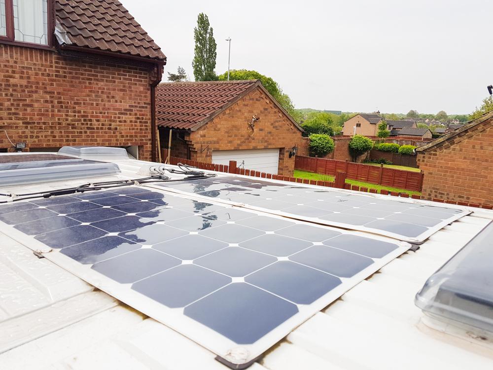 Campervan Solar Panels