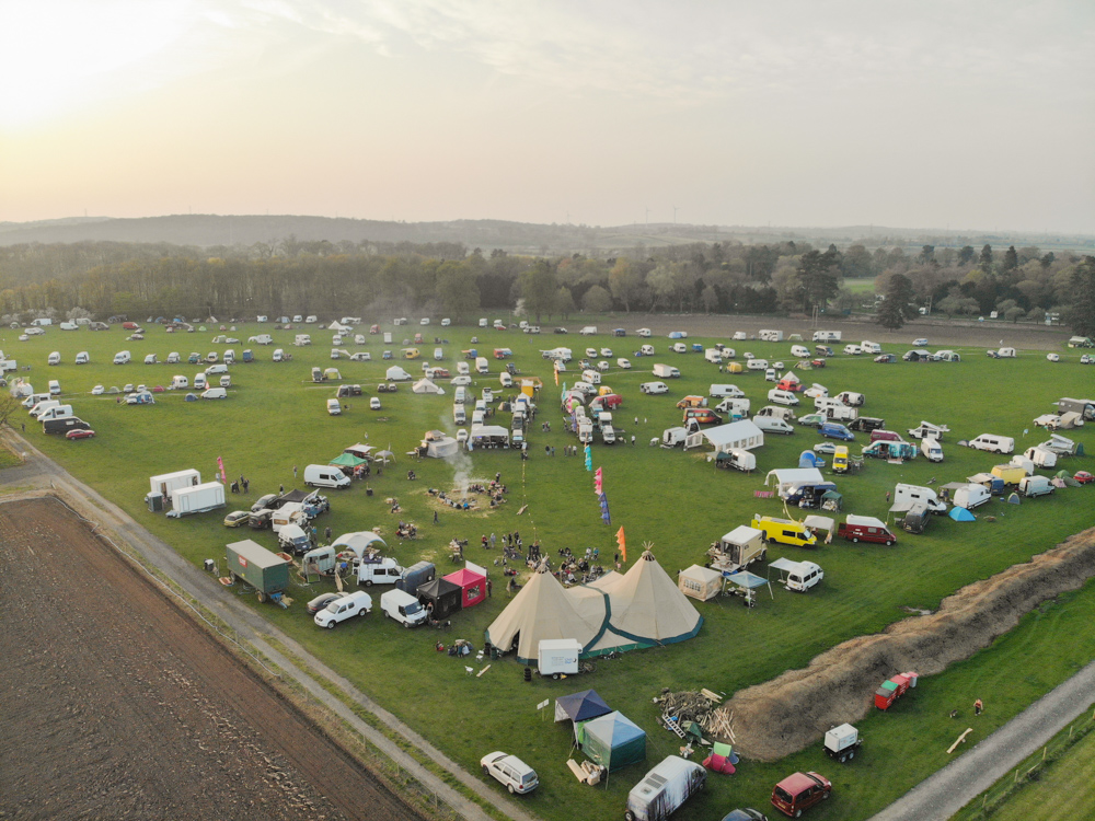 Camp Quirky 2018 Drone Photo