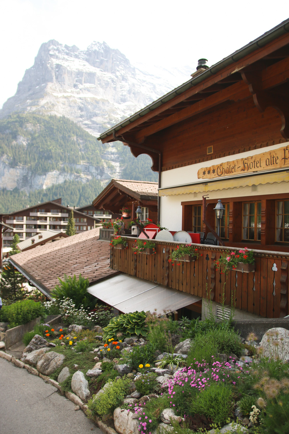 Grindelwald at Interlaken, Switzerland