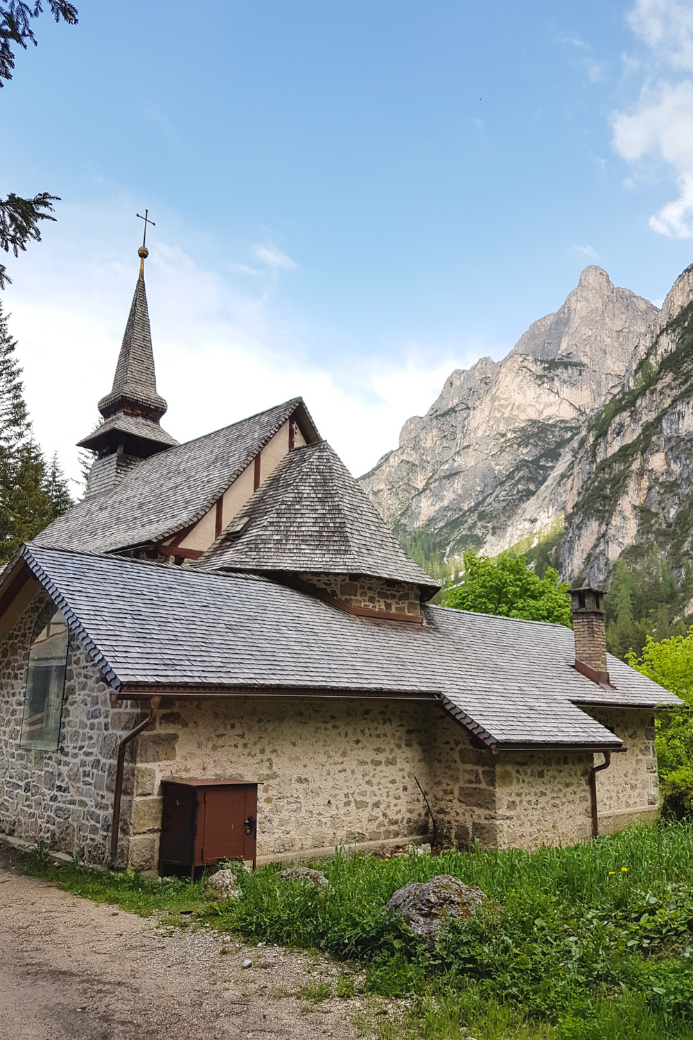 Lago di Braies Church