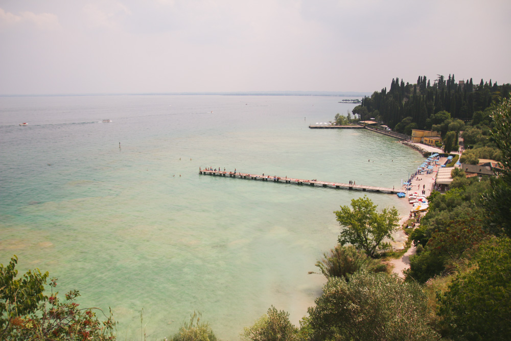 Sirmione Beach Lake Garda