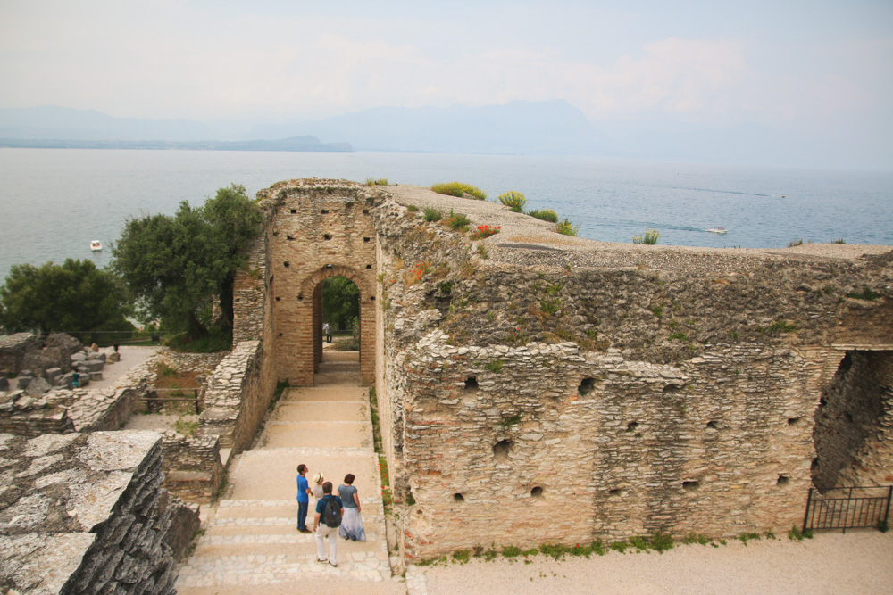 Grotto at Sirmione Lake Garda