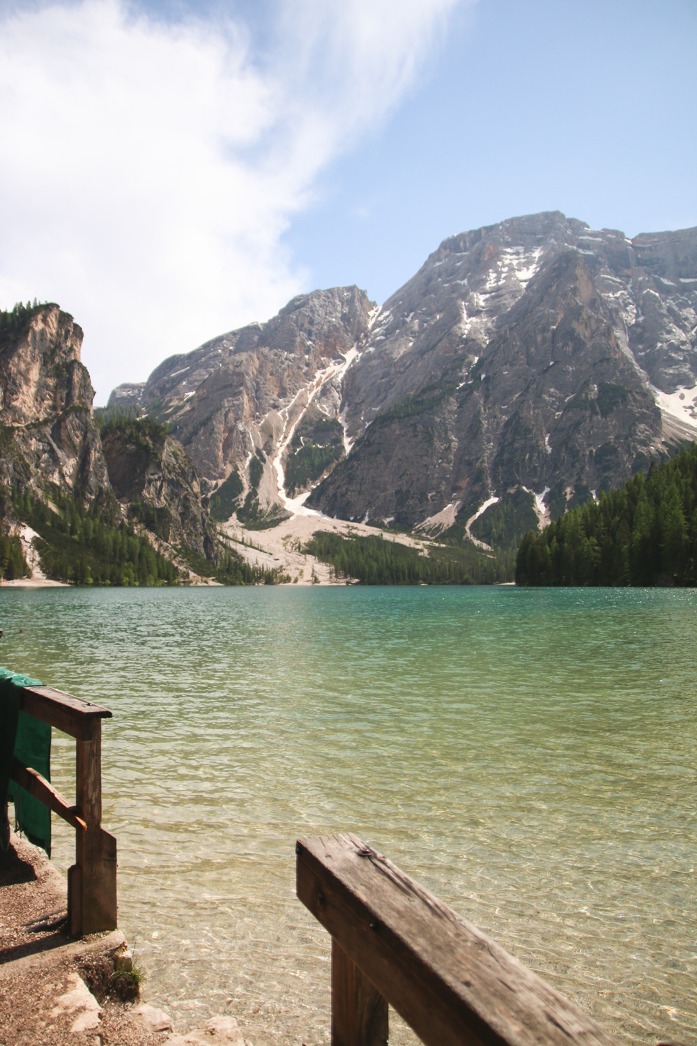 Views over Lago di Braies