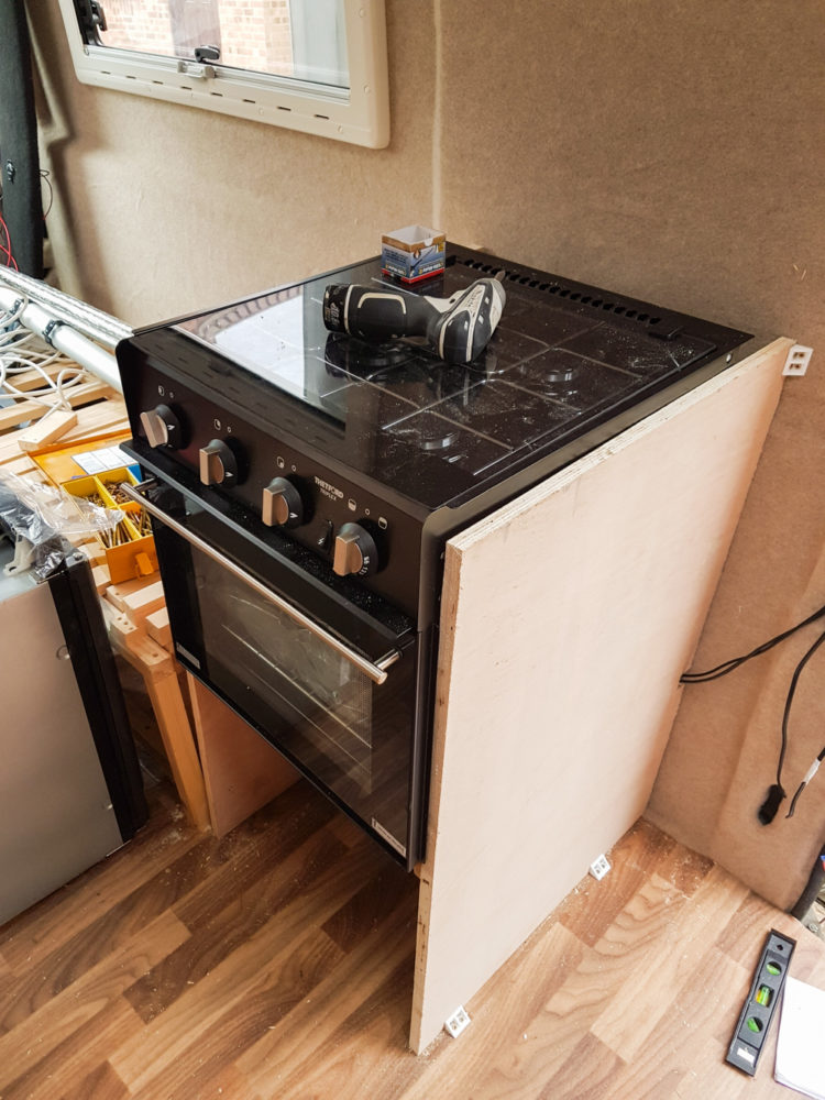 Campervan Conversion - Cooker
