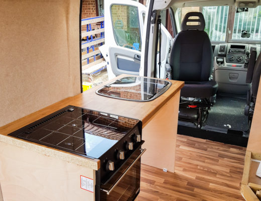Campervan Conversion - Building the Kitchen