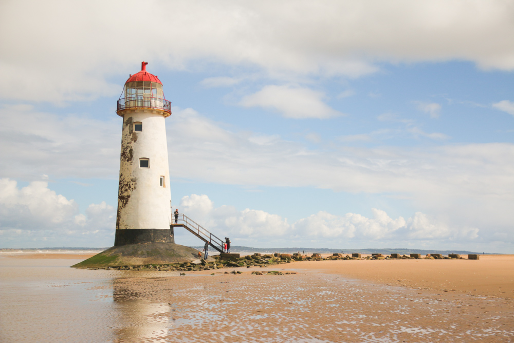Point of Ayr Lighthouse, North Wales