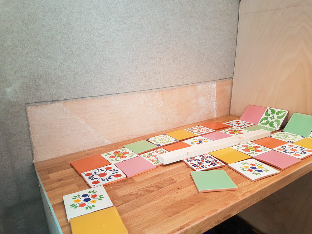 How to Install Tiles in a Campervan