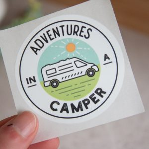 Adventures in a Camper Bumper Sticker