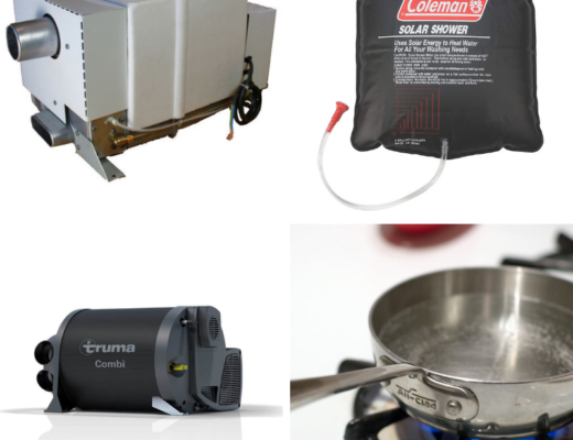 7 Ways to Get Hot Water in a Campervan