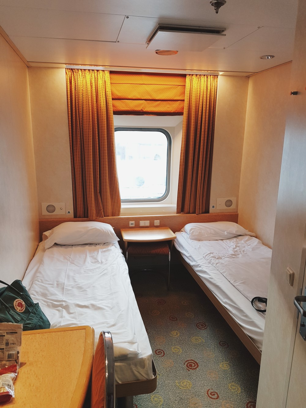 Brittany Ferries Cap Finistere Outdoor Cabin