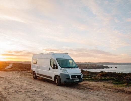 Vanlife Christmas in Portugal