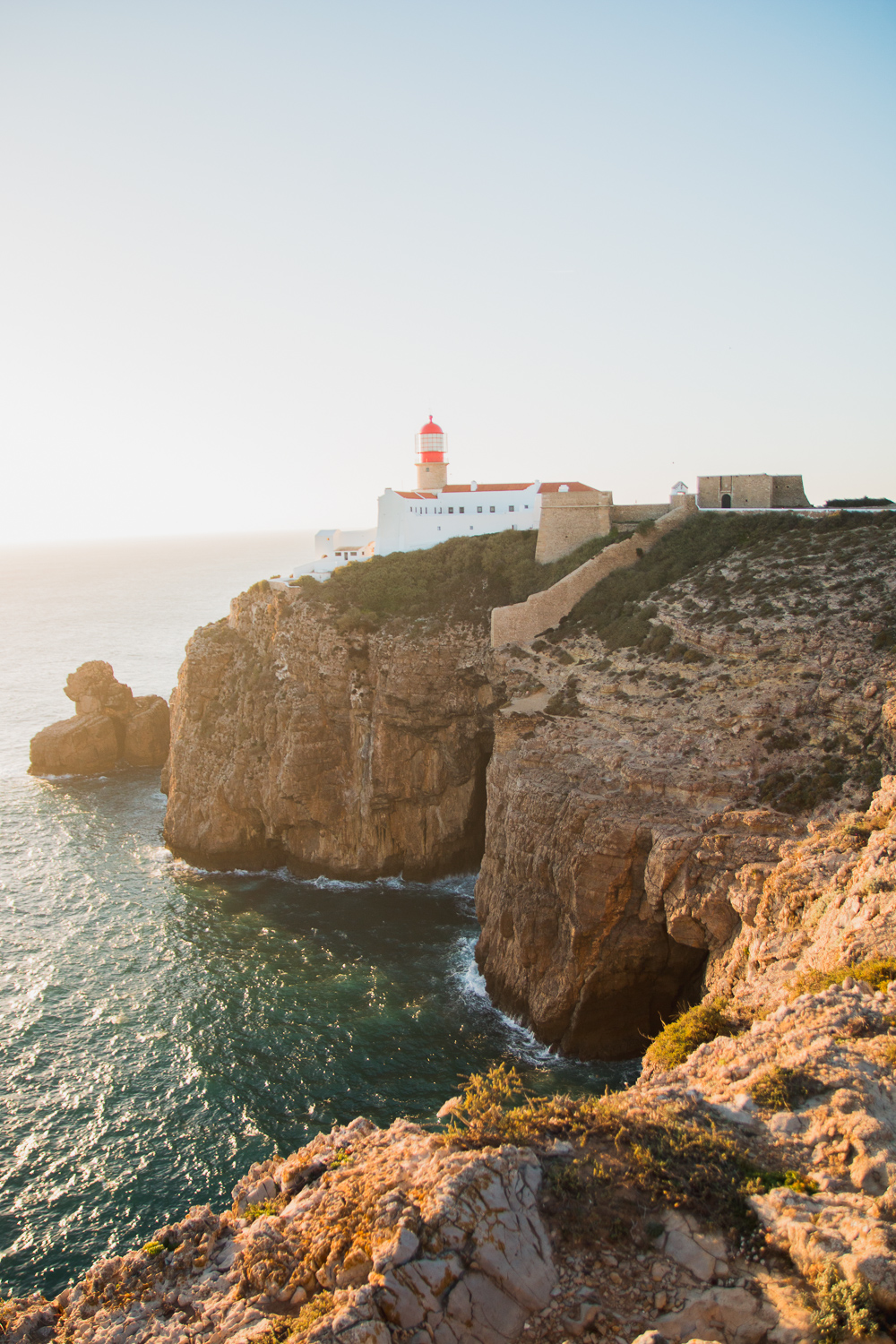 Sunset at Cape St Vincent Portugal
