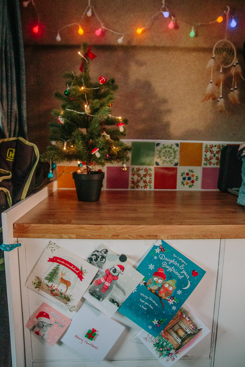 Christmas in a Campervan