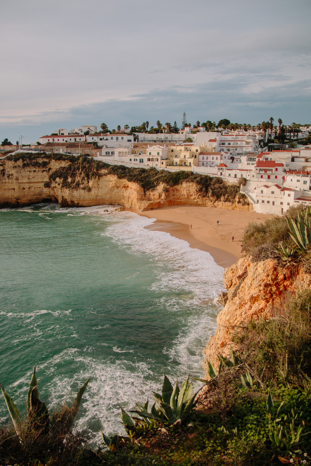 Carvoeiro Beach from Boardwalk