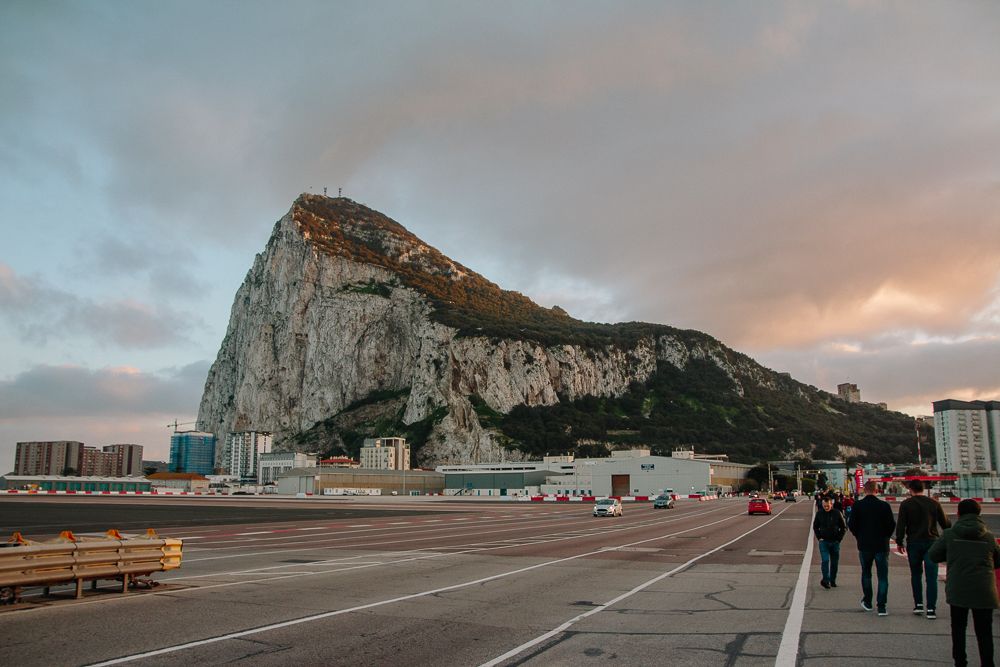 Gibraltar Airport Crossing