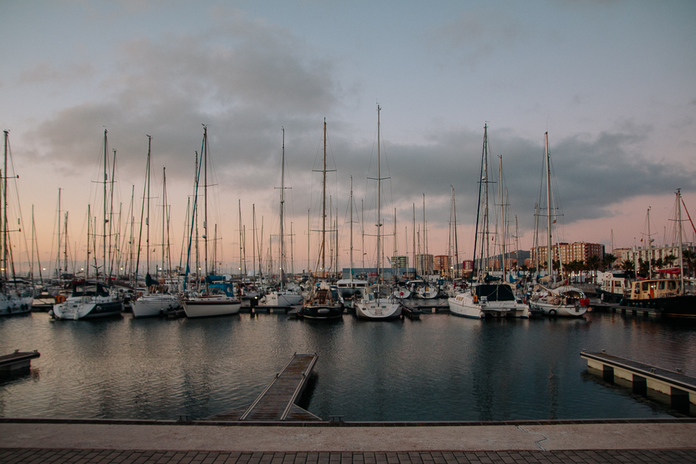 Marina at La Linea de la Conseptione